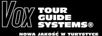 VOX TOUR GUIDE SYSTEMS - systemy tourguide dla przewodników, grup i pilotów